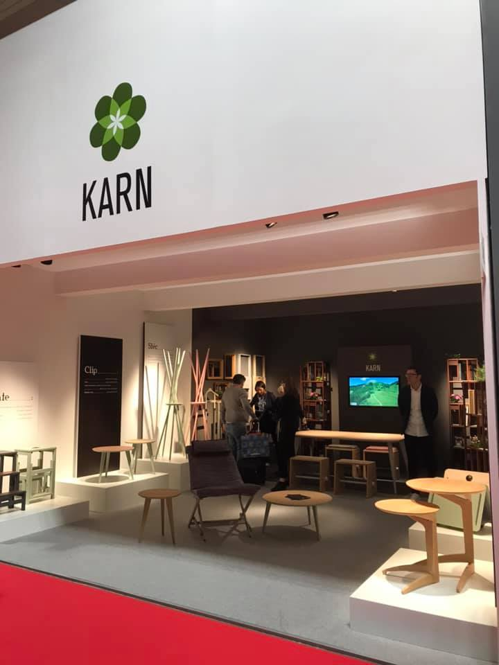 Novità prodotti Karn 2019 in anteprima al salone del mobile